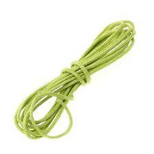 Green Jewellery Beading 100% Cotton Cord 1mm - 1 Metre Length (A96/3)