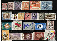 COLOMBIA Stamps Collection M & U Sports Airplanes Space Flowers Costumes COL1