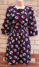 Silk Floral Skater Dresses