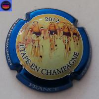 Capsule de Champagne PIERRE MIGNON Le Tour de France 2012 Contour Bleu Métalisé