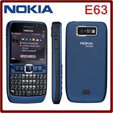 QWERTY Keypad Unlocked Nokia E63 Wifi 3G Camera 2MP Mp3 Player wifi Mobile Phone