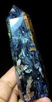 200g Natural Rare Pietersite Crystal Point Wand Healing Specimen Stone #208