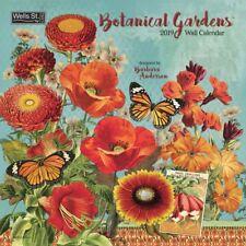 2019 Wells St by Lang Botanical Garden Wall Calendar Barbara Anderson 12x12 WSBL