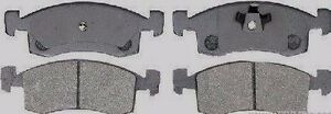 DODGE CHARGER DAYTONA PLYMOUTH RELIANT LASER  FRONT DISC BRAKE PAD SET