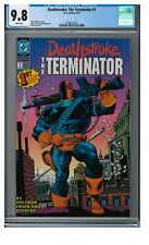 Deathstroke: The Terminator #1 (1991) Key 1st Issue Mike Zeck CGC 9.8 XX283