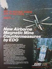7/1982 PUB EDO AIRBORNE MAGNETIC MINE COUNTERMEASURE AN/ALQ-166 US NAVY AD