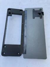 78 - 88 Monte Carlo SS El Camino NEW Gray Console Door Lid and Hinge Armrest