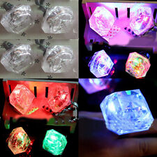 1Pcs Night Hen Party Accessories Large Flashing Plastic Ring Bride To Be Gift