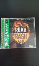 ROAD RASH 3D Playstation PS1 Video Game GREATEST HITS LABEL