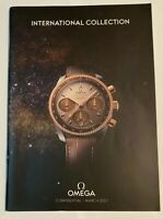 OMEGA International Collection March 2017- Watch Catalogue RARE IN DEALERS ONLY