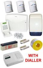 Wired Burglar Alarm System LCD PRO Kit with Bosch PET Friendly PIRs + Dialler