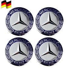 4x Nabendeckel für Mercedes-Benz Radnabenabdeckung Rad-Nabendeckel Nabenkappen~