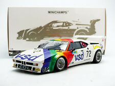 Minichamps BMW M1 BMW FRANCE ZOL AUTO Le Mans 1981 #72 1/18 Scale LE of 504 New!