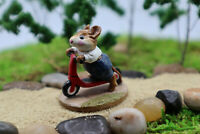Wee Forest Folk Scooter Mouse M-152 Red Navy Blue Pants WWF Retired 1987