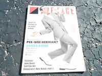 JULY 1987 THE FACE vintage magazine PEE WEE HERMAN - JAMES BOND