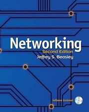 Networking by Jeffrey S. Beasley (2008, Hardcover) Software Enclosed