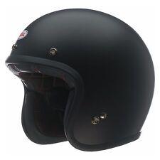 Casco Jet Bell Custom 500 Solid Black Helmet