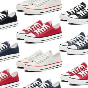 Converse Trainers Mens Womens Low Tops Chuck Taylor All Star Canvas Shoes