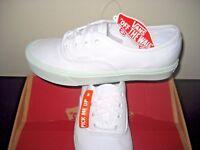 Vans Womens Authentic Lite Pop Pastel True White Zephyr Green shoes Size 7 NWT