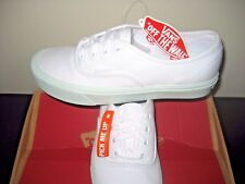 Vans Womens Authentic Lite Pop Pastel True White Zephyr Green shoes Size 8 NWT