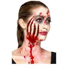 Claw Wound Halloween Fake Prosthetic Latex Joke Scar Fancy Dress Zombie Make up