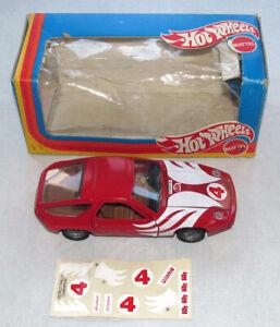 Vintage 1/25 Mebetoys Mattel Hot Wheels Porsche 928 Rally w Box & Decals