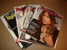 lot 9 of Rolling Stone magazine from 2011 Eddy Murphy-Steve Jobs-Pink Floyd more