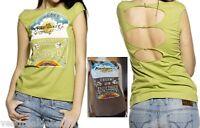 T-Shirt Maglietta Maglia Donna Top MISS SIXTY D186 Tg S XL