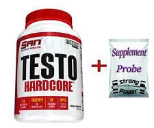 San Testo Hardcore Testosteron Booster 90 Tabs Muskelaufbau Bodybuilding + BONUS
