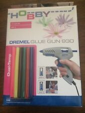 dremel glue gun 930 hobby craft and repairs hot glue sticks dual temperature Bn