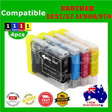 4x Ink Cartridges LC960 LC970 LC37 LC57 For Brother DCP 130C 135C 150C MFC 440