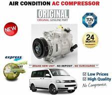 Para VW Multivan Mk5 2.0 TSI + 4motion 2012-2015 Nuevo ca Compresor Aire Acond.