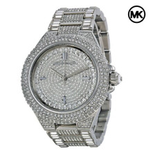Michael Kors Camile Women's Watch MK5869 Crystal Pave Dial Silver Tone Bracelet