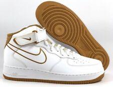 Nike Air Force 1 Mid '07 LTHR AQ8650-101 White Bronze UK 11.5 EU 47 US 12.5 New