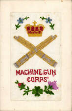 World War 1 Regimental Silk. Machine Gun Corps.