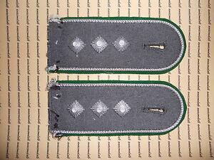 Schulterklappen Rangabzeichen Heer Jacke grün Hauptmann ##1100