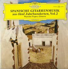 """narciso yepes spanische gitarrenmusik aus fünf jahrhunderten vol.2 12"""" LP (c303)"""