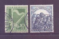 Berlin 1950 - Philharmon.- MiNr.72/73 gestempelt geprüft - Michel 130,00 € (368)