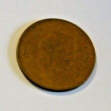 Vintage Collectible Gold Colored Coin From Jordan Ten Fils   USED