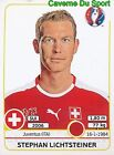 103 STEPHAN LICHTSTEINER SWITZERLAND JUVENTUS STICKER EURO 2016 PANINI