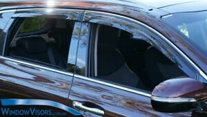 Window Visors WeatherShields 4pcs weather shields for Kia Sorento MQ4 2020-2022