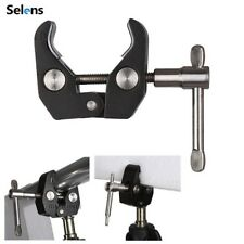 Selens S-068 Super C Clamp Adapter for Photo Studio Light Stand Paper Backdrop
