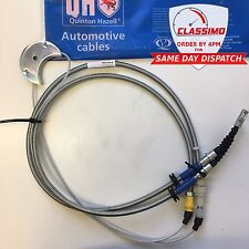 Handbrake Cable (rear disc brakes) for FORD SIERRA XR4i XR4x4i & RS COSWORTH QH