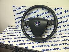 SAAB 9-3 93 Complete Steering Wheel Leather Unit 03 - 2005 12796742 TESTED GOOD