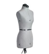 Adjustable Dress Form Large Seamstress Mannequin Fm-L Family Fashion Design Grey