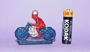 *  VINTAGE  *  LEAD  *  RACING MOTORCYCLE WITH RIDER  *  LOT 2  *