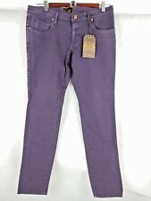 WOMEN'S EZEKIEL  PANTS JEANS TROUSERS SIZE 8 ZIP ANKLE