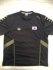 Arena South Korea Official National Swim Team Mens Training Shirt Large RARE!