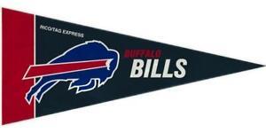 Buffalo Bills Mini Pennants 8 Count [NEW] NFL Wall Flag Banner Man Cave