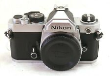 Nikon FM Camera Body Chrome EXC+ #37641